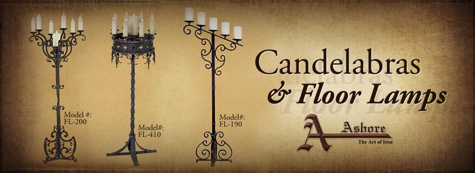 Candelabras and Floor Lamps