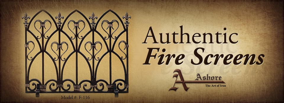 Authentic Fire Screens