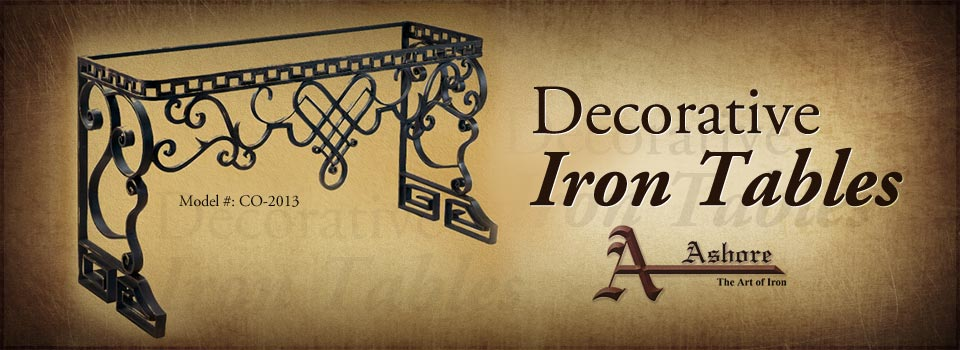 Decorative Iron Tables